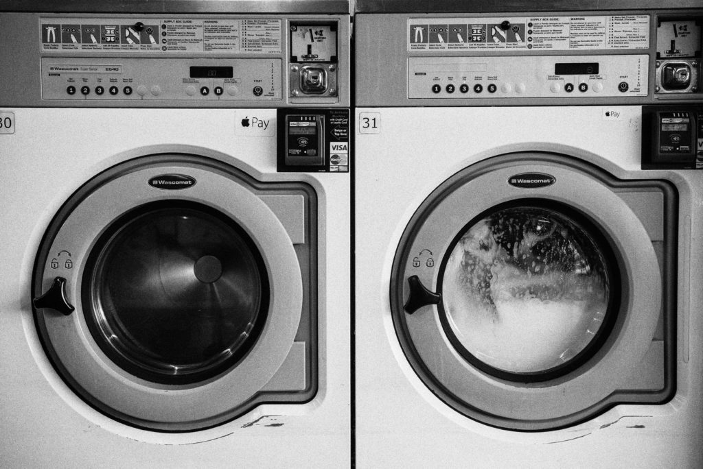 Eine Waschmaschine die repariert wurde von Reci Haustechnik
