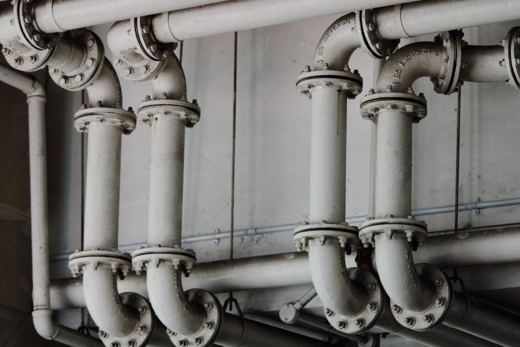 Rohre die der Sanitär bei Reci Haustechnik repariert hat