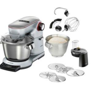 Bosch MUM9AX5S00 Küchenmaschinen Set inkl. MUZ9VL Vegi-Multimixer 5 versch. Scheiben
